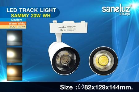 Saneluz LED 20W Track Light SAMMY White