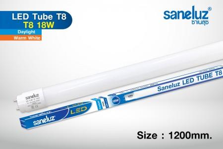 Saneluz หลอดยาว LED T8 18W 120cm 1800lm รุ่น GT
