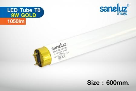 Saneluz หลอดสั้น LED T8 9W 60cm 1050lm รุ่น Gold