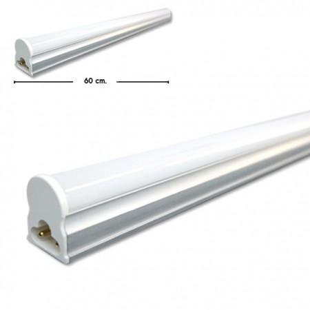 T5 10W LED 60cm. set รางในตัว รุ่นธรรมดา