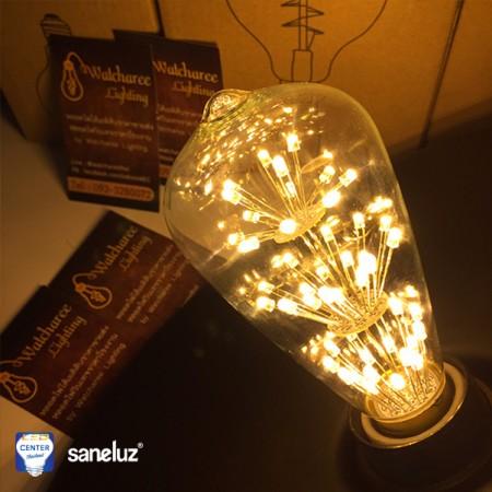 หลอดไฟ LED เอดิสัน 3W รุ่น WLED-0102
