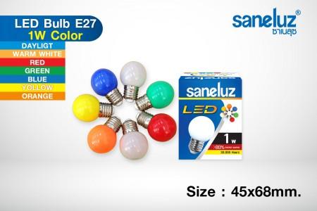 Saneluz LED 1W E27 bulb