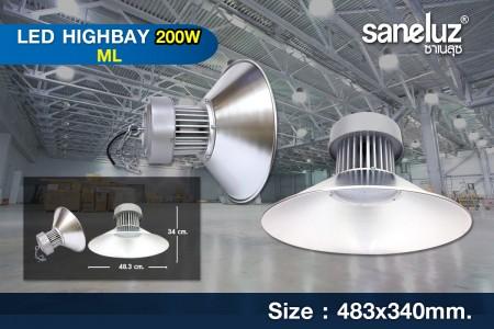โคมไฟไฮเบย์ LED Hibay 200W รุ่น ML