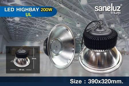 โคมไฟไฮเบย์ LED Hibay 200W รุ่น UL