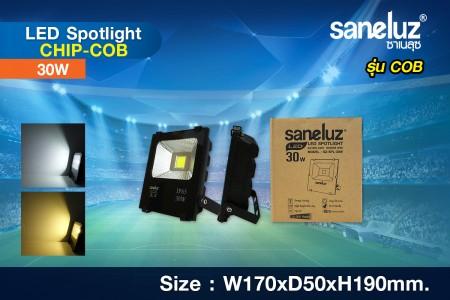 Saneluz สปอร์ตไลท์ LED 30W รุ่น Chip COB