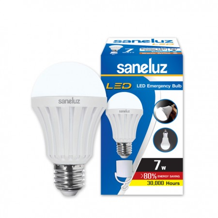 Saneluz LED 7W E27 emergency