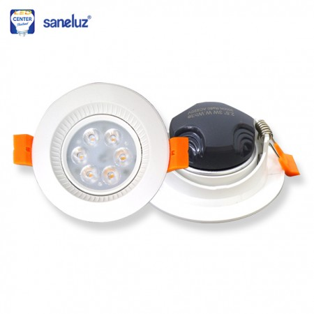 Downlight LED 3W กลม