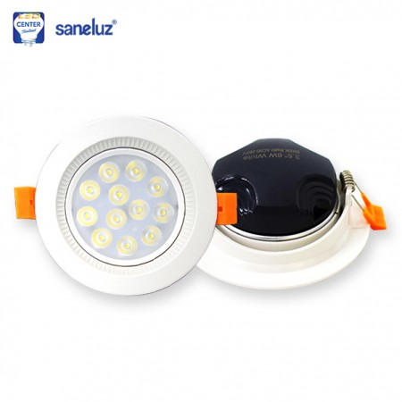 Downlight LED 6W กลม