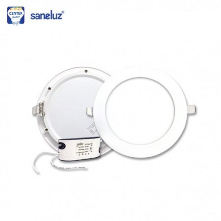Panel Light LED 12W กลม 6""