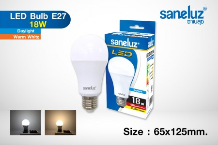 Saneluz LED 18W E27 bulb