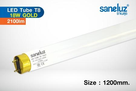 Saneluz หลอดยาว LED T8 18W 120cm 2100lm รุ่น Gold