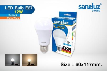 Saneluz LED 12W E27 bulb