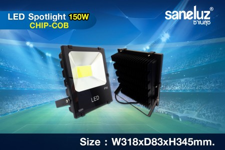 Saneluz สปอร์ตไลท์ 150W LED รุ่น HD