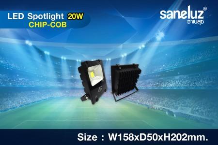 Saneluz สปอร์ตไลท์ 20W LED รุ่น HD