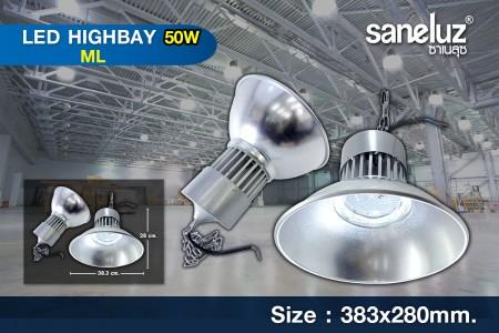 โคมไฟไฮเบย์ LED Hibay 50W รุ่น ML
