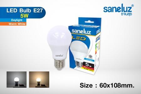 Saneluz LED 5W E27 bulb