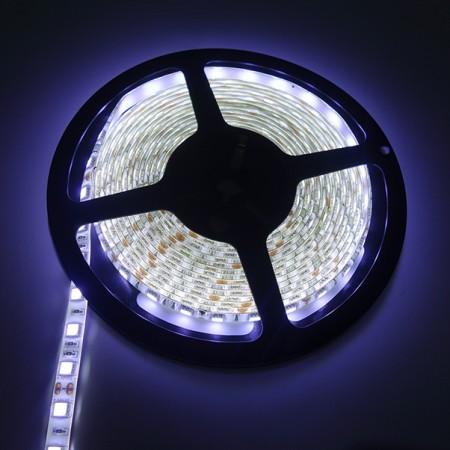 ไฟเส้นริบบิ้น แสงสีขาว 12V IP44 SMD5050 แบบเคลือบ
