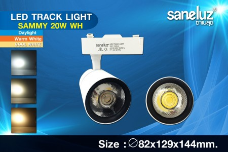 Saneluz LED 20W Track Light SAMMY White