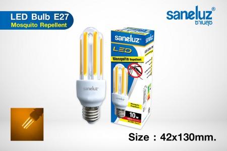 หลอดไฟไล่ยุง Saneluz LED 10W E27 Corn