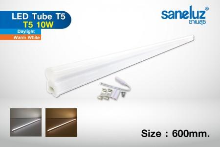 T5 10W LED 60cm set รางในตัว