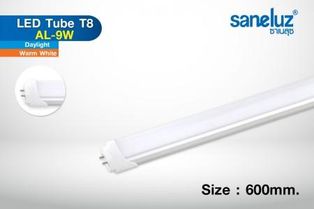 Saneluz หลอดสั้น LED T8 9W 60cm 900lm รุ่น AL
